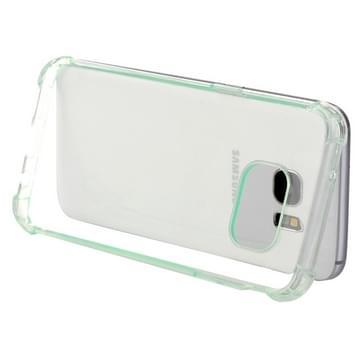 Samsung Galaxy S7 / G930 schokbestendig TPU back cover Hoesje (groen)