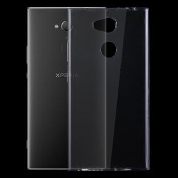 Voor Sony Xperia L2 0 75 mm ultra-dunne transparante TPU beschermende Case(Transparent)