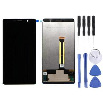 LCD-scherm en Digitizer voor Nokia 7 Plus(Black)