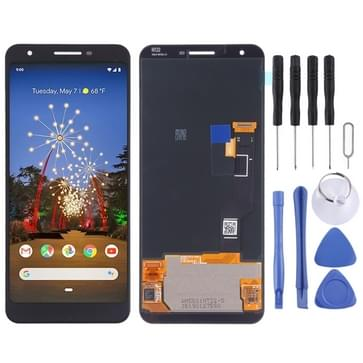 LCD Screen And Digitizer Full Assembly for Google Pixel 3a XL (Black)