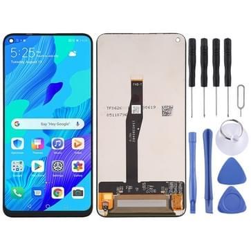 LCD-scherm en digitizer volledige assemblage voor Huawei Nova 5T / YAL-L21 / TAL-L61 / YAL-L71 / YAL-L61D (Zwart)