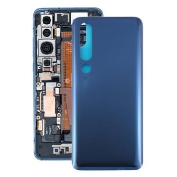 Glazen materiaal batterij achterkant voor Xiaomi Mi 10 Pro 5G / Mi 10 5G(Grijs)