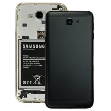 Achterste schutblad voor Galaxy J7 Prime  G610F  G610F/DS  G610F/DD  G610M  G610M/DS  G610Y/DS  ON7(2016)(Black)