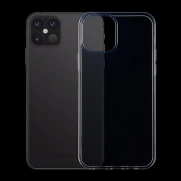 Voor iPhone 12 Pro Max Verdikte antislip anti-vergeling transparante TPU Case(Transparant)