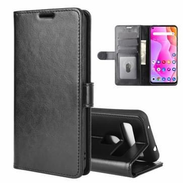 Voor TCL 10L R64 Texture Single Horizontal Flip Protective Case met Holder & Card Slots & Wallet en Photo Frame(Black)