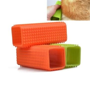 4 PCS Siliconen Pijler Pet Hair Removal Brush (Random Color Delivery)