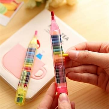 20 PCS Creative Personality Kleurpotloden 20 Kleur kleurpotloden Veilig Niet-giftige Environmental Protection Student Kleurpotloden