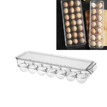 Keuken koelkast opbergdoos vak met Deksel Egg Opbergdoos  Specificatie: 14 Grid