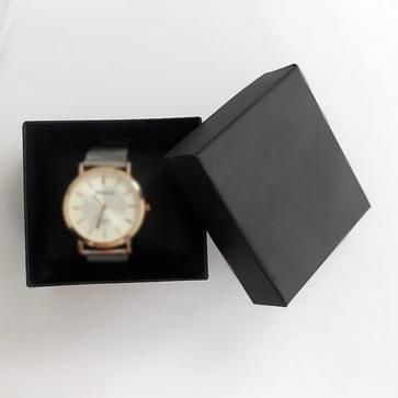 20 PCS Watch Box Decoratie Papieren gift box armband doos (Zwart)