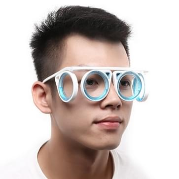 Opvouwbare Portable geen lens anti-motion ziekte Seasick vloeibare bril outdoor reizen tool