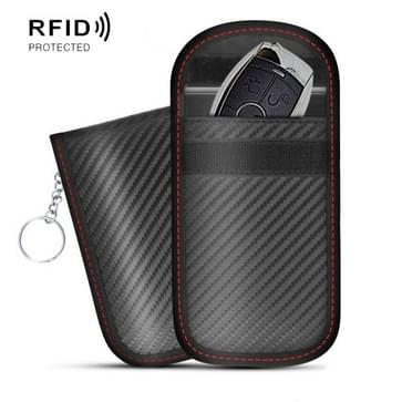2 PCS Antimagnetic RFID Car Key Mobile Phone Bag Shielding Set Radiation Cell Phone Pocket