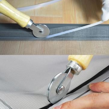 Houten metalen scherm venster spline roller gaas wiel venster install tool