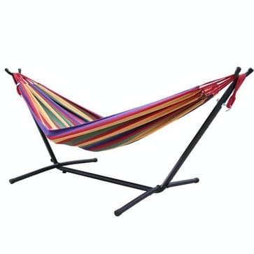 Indoor Adult Single Double Hangock Binnenplaats Leisure Hangmat (Kleurrijk)