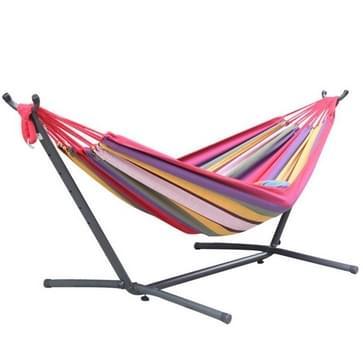 Indoor Adult Single Double Hangock Binnenplaats Leisure Hangmat (Rainbow Kleuren)
