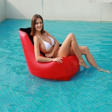Lazy Outdoor Water Folding Opblaasbare Fauteuil Stoel  Grootte: 85 x 85 x 85cm