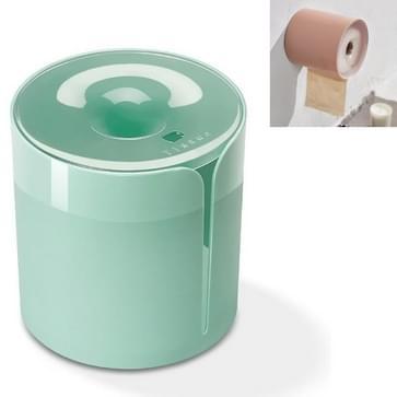 Huishoudelijke badkamer niet-geperforeerde Tissue Box Naadloze installatie van roll paper tube (groen)