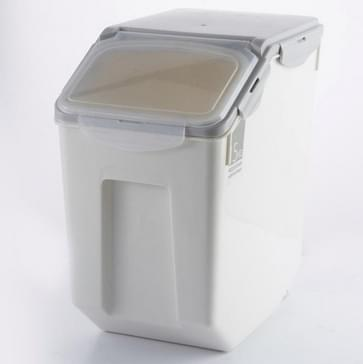 Rijst emmer met afdichting ring vochtbestendige keuken plastic bloem opslag doos  capaciteit: 15kg