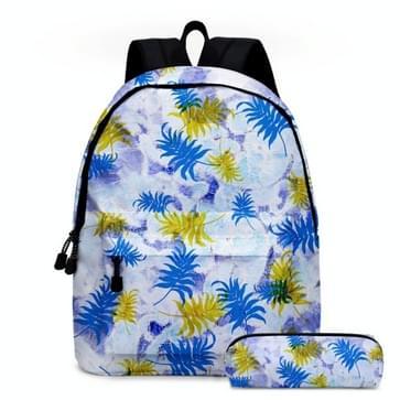 2 in 1 Tie-dye Serie Backpack Kinderen Schoolbags Potlood Tassen  Grootte: 16 inch (Tie Dye Series 01)