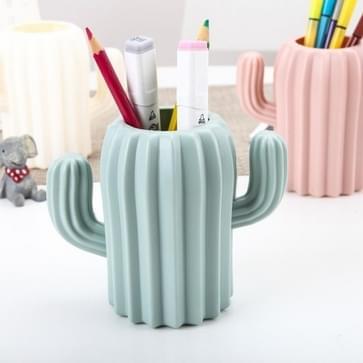 5 PCS Multifunctionele Cactus Pen Houder Desk levert willekeurige kleur