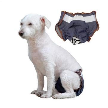 Anti-verdriet Vrouwelijke Hond Fysiologische Broek Urine-proof en natte huisdier lek-proof ondergoed  Maat:XXL