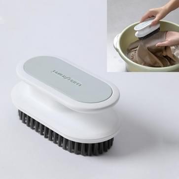 5 PC's A075 Plastic zacht haar wassen schoenen schoen borstel schoonmaken borstel kleren wasbad borstel (wit)