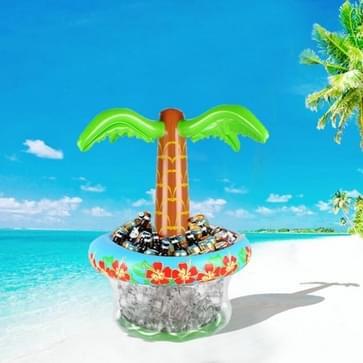 Coconut Tree Vorm PVC Opblaasbare Coaster Water Cup Houder Drank Ice Bucket