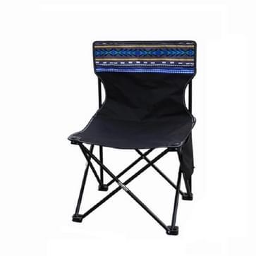 Camping Travel Outdoor Klapstoel Portable Fishing Chair  Specificatie: Zwart 40x40x70cm