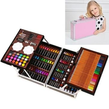 145 in 1 Schilderij Aquarel Pen Set Children School Supplies( Roze)