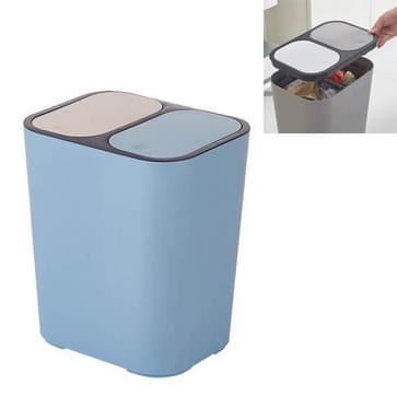 Droge en natte classificatie Pers Prullenbak prullenbak huishouden keukenpapier mand (blauw)