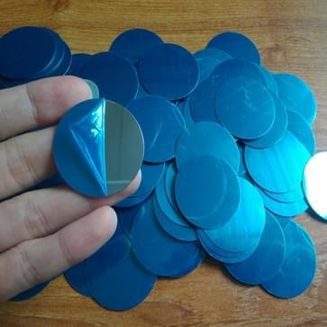20 stuks metalen plaat schijf ijzer blad voor magnetische auto telefoon stand houder (40x 0.3 mm)