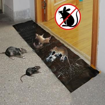2 pcs Mouse Rodent Glue Rat Trap Board Mice Killer  Length:1.2m