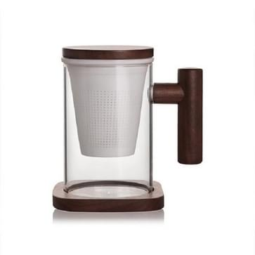 Hoge borosilicate glas schapen vet jade porselein thee lek bubble thee cup  capaciteit: 300ML  Style:Yisheng Cup 2A