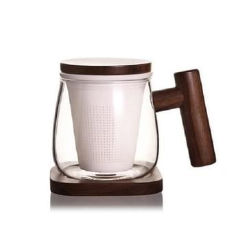 Hoge borosilicate glas schapen vet jade porselein thee lek bubble thee cup  capaciteit: 300ML  Stijl: Twee Sheng Cup 2A