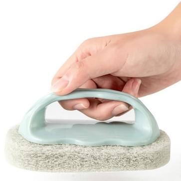 12 PCS Keuken Tegel Badkuip Borstel Household Brush Pot schuren Sponge Cleaning Brush met Handle Random Color Delivery