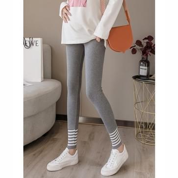 Outer Wear Trendy Mother Fashion Belly Lifting Leggings Lente en Herfst Modellen van Small Feet Pants Werk Broek Herfst (Kleur: Donkergrijs maat: M)