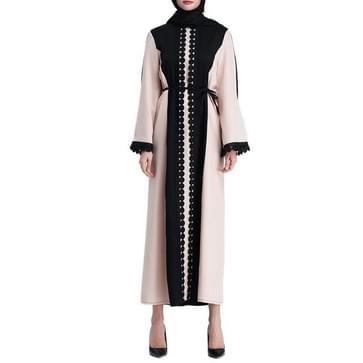 Vrouwen moslim een stuk lange jurk (kleur: als show grootte: L)