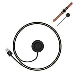 Huawei Watch laad Cradle Dock lader / docking station met USB kabel  CE kreeg / FCC Certification(zwart)