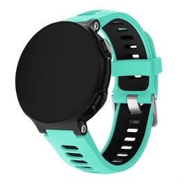 Smart Watch silicone polsband horlogeband voor Garmin Forerunner 735XT (mintgroen)