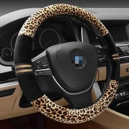 Luipaard graan Steering Wheel Cover  aanpassing stuurwiel Diameter: 37-38 cm