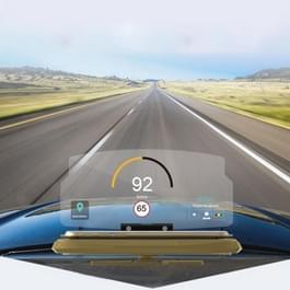 Universele mobiele GPS navigatie beugel HUD Head Up Display auto mobiele telefoon Mount-Stand (met siliconen Anti - pallet)  voor iPhone  Samsung  LG  Nokia  HTC  Xiaomi  Sony  Huawei en andere Smartphones(Gold)
