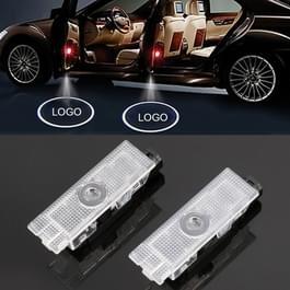 2 stuks DC12V 1.5 W autodeur logo licht merk Shadow Lights courtesy lamp voor Alfa Romeo