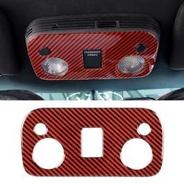 Auto Carbon Fiber dak licht paneel decoratieve sticker voor Ford Mustang
