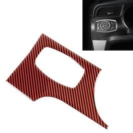 Auto Carbon Fiber koplamp switch panel decoratieve sticker voor Ford Mustang