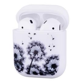 Matte siliconen TPU oortelefoon beschermende case voor Apple AirPods 1/2 (Paardebloem)