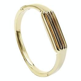 Voor Fitbit Flex 2 Smart armband roestvrijstaal vervanging armband (goud)