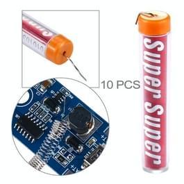 10 PCS 0.8mm soldeer draad Flux Tin lood smelten solderen draad