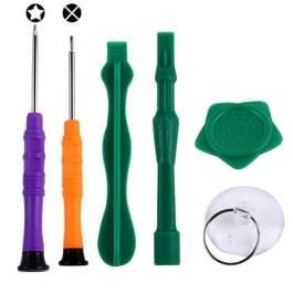 6 in 1 Professional schroevendraaier reparatie Open Tool Kit voor de iPhone 6s & 6s Plus