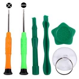 6 in 1 professionele schroevendraaier reparatie Open Tool Kit voor Samsung