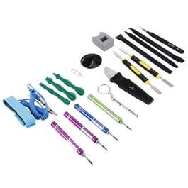 Appropriative Professional schroevendraaier reparatie Open Tool Kit met lederen handtas voor iPhone 7 & 7 Plus