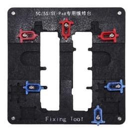 Antistatische hoge precisie High-temperatuurbestendig moederbord Repairing Fixing houder voor iPhone 5 c & 5s & SE